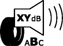 External rolling noise pictogram